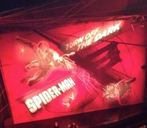 Spiderman on Broadway